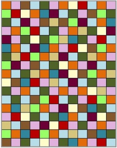 Farbschema Granny-Decke