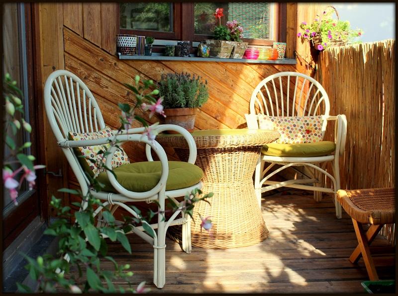 sch ner neuer balkon das h kelkabinett. Black Bedroom Furniture Sets. Home Design Ideas