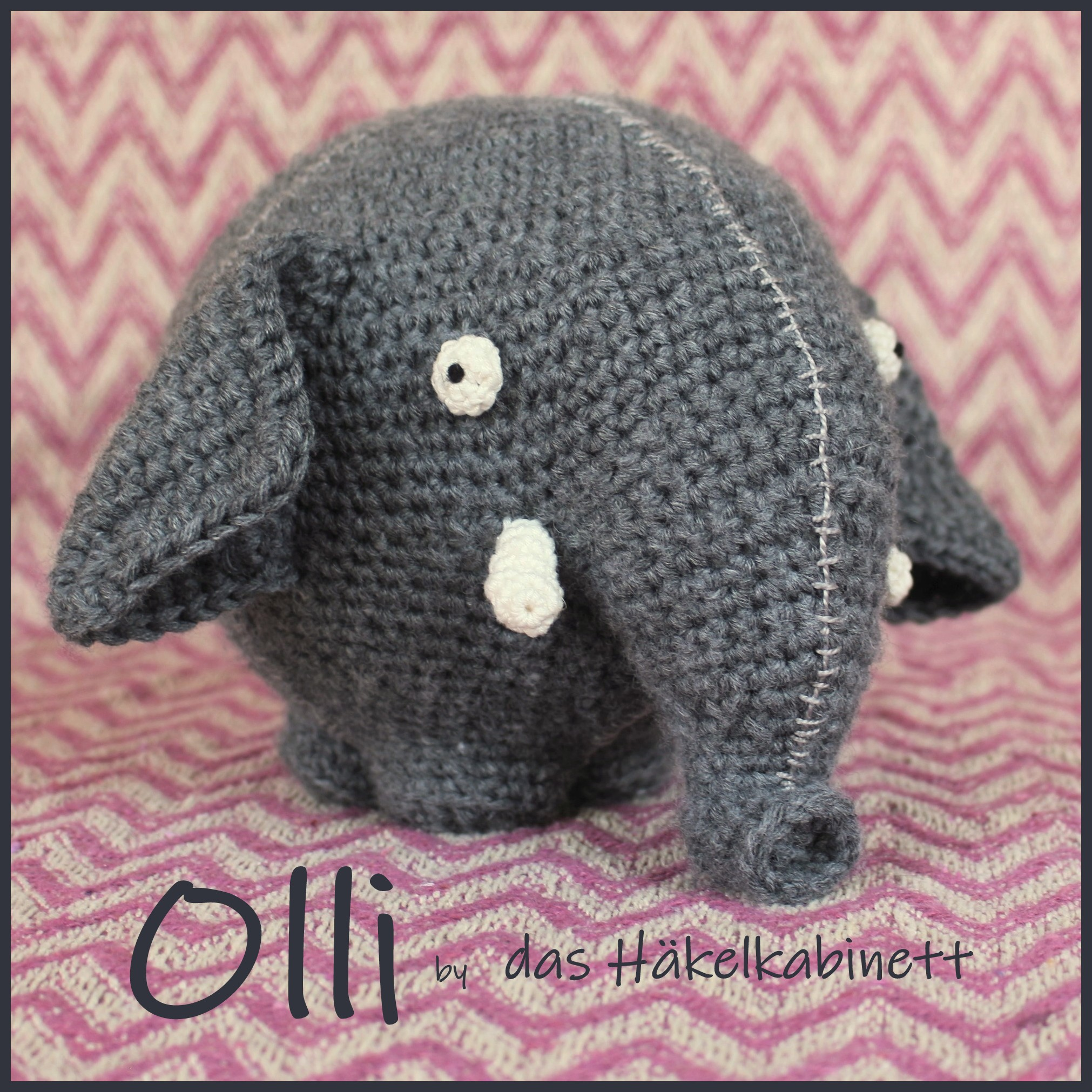 Elephant Pattern | Crochet | Sewing | 2022x2022